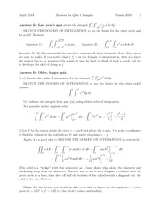 Quiz 1 Solution Fall 2010 on Multivariable Calculus
