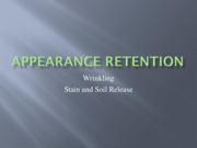 Appearance Retention2
