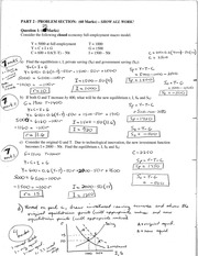 Test 1 Problems Solutions