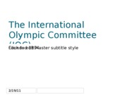 GEA+2011+Brownell,+International+Olympic+Committee+final