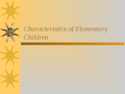 Lecture_13-_Char._of_Elem_Children