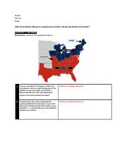 Missouri Compromise_ Divison of North and South.docx