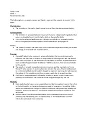 Exam 2 Study Guide (Autosaved)