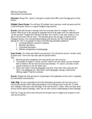 Mid Term Study Guide Intercultural Sp 11