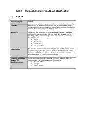 Purpose, Requirements and Clarification 1.1 Report.docx