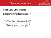 eml 3100 lecture on efficiencies