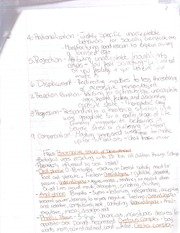 PSYCH 118 -rationalization notes