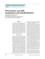 0. IPTV Services over IMS
