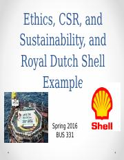 331 Ethics, CSR, Sustainability S16.ppt