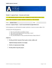 implications in your capstone project you will be developing a