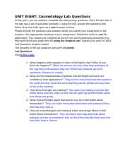 UNIT EIGHT_ Cosmetology Lab Questions.docx