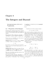 Chapter 3 Integers