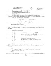 Math 107A prime numbers and greatest common divisor notes