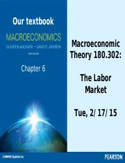 AS.180.302 Section 2 Labor Market notes
