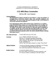 CCE-4100-Fall2009