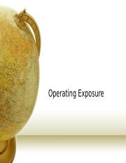 Operating Exposure.ppt