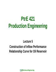 PtrE 421_Lecture 5_Construction of IPR Curve