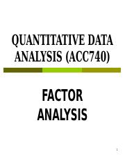 Factor Analysis-