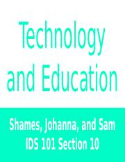 Technology and Education.pptx