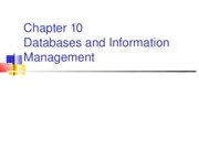 Chap 10 Database Mgt Sys