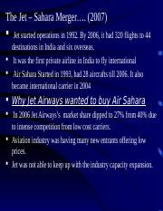 Jet Airways and Sahara.ppt