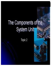 02 Components of System Unit