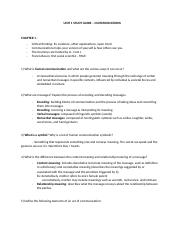 Communications - Unit 1 Study Guide.docx