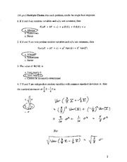 Solutions to Ma381, Exam 2 (blue version), F04