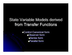 State Variable Models derived from Transfer Functions.pdf