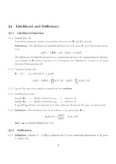 Chapter4(Likelihood and Sufficiency)