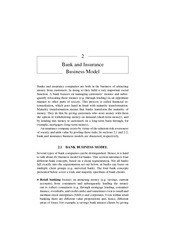 Chapter 2 Bank and Insurance Business Model