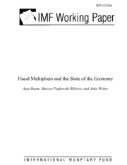 IMF Research on Fiscal Multipliers - Baum et. al.