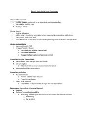 Social Psychology Exam 2 Study Guide.docx