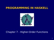 Haskell chapter7