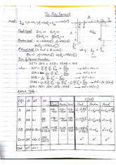 Two Factor Experiment Notes