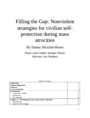FillingtheGapNonviolentstrategiesforcivilianself-protectionduringmassatrocities