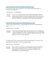MKT 100 Midterm docx - Course Principles of Marketing