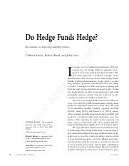 Asness, Krail, and Liew _2001_ - Do Hedge Funds Hedge.pdf