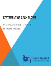 Week 3 Statement of Cash Flows.pptx