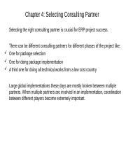Section 2 - Chapter 4 - Selecting ERP Consulting Partner- Teaching Aid - Copy