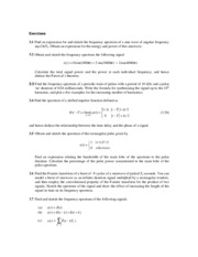 Examples-Fourier