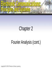 L02-1-Chapter 02 - Fourier Analysis