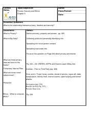 Cornell Note Paper - Ch 9 - Ethics %281%29.docx