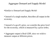 Aggregate Demand and Supply Model-2