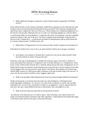 Becoming Human_Part 2 worksheet.docx