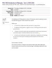 Self-Quiz Unit 7 pdf - Self-Quiz Unit 7 PHIL 1402