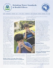 USEPA _2004_ Drinking Water Standards and Health Effects