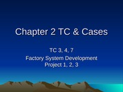 Chapter 2 TC & Cases