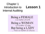 Chap01 Intro to Internal Auditing - Lesson1