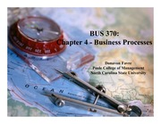 Business Processes CH 4